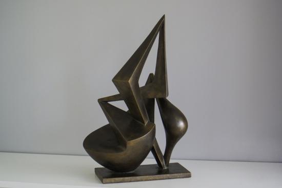 Symphony ( bronze, 20,8in H, 53cm H)